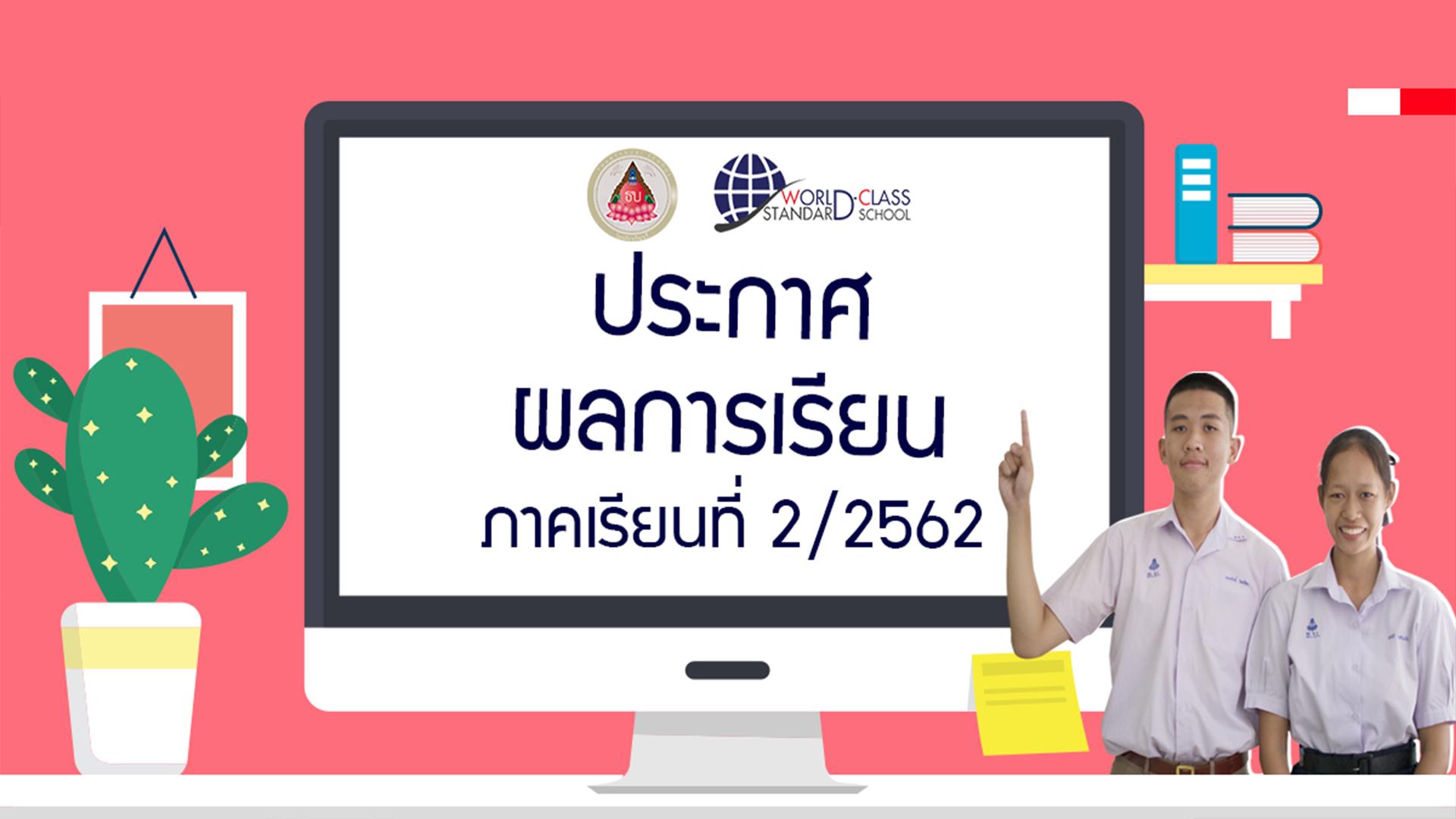 ผลการเรียนโรงเรียนธัญบุรี